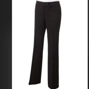 TAHARI Black Techno Pants Stretch Sz 8